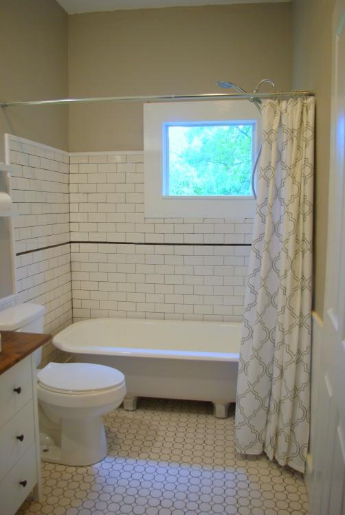 Main bathroom- finished!
